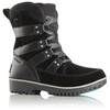 Sorel Youth Meadow Lace Boots Black, Dark Grey